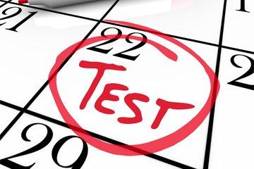 Strah pred ocenjevanjem znanja, testna anksioznost