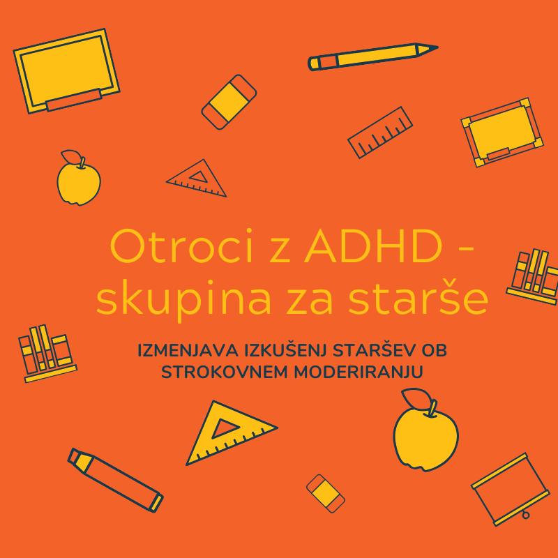 Skupina za starše otrok z ADHD