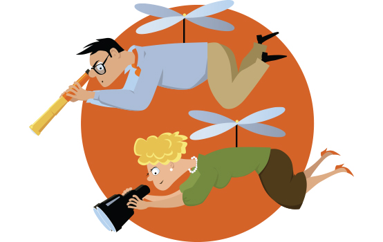 Helikopterski starši: Kdaj zaščitniško vedenje postane pretirano in škoduje otroku?
