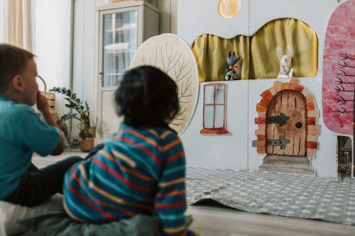 Lutke, predstava, komunikacija, reševanje konfliktov